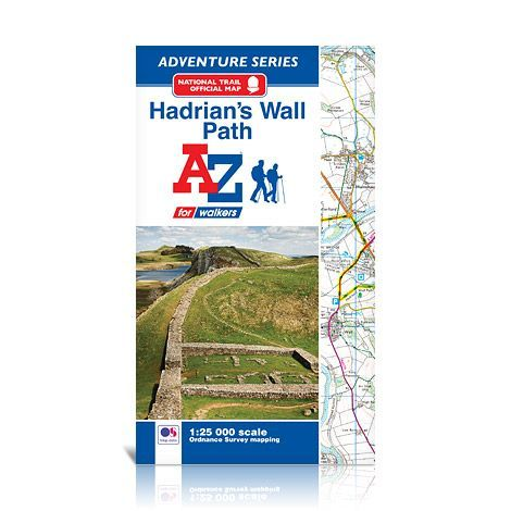 A-Z Adventure Atlas - Hadrian's Wall Path