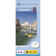 CNIG Spanish Provincial Road Maps (1:200k) - Cantabria