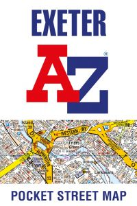 A-Z Pocket Street Map - Exeter