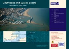 Imray 2000 Series Chart Pack - Kent & Sussex Coasts (2100)