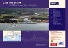 Imray 2000 Series Chart Pack - The Solent (2200)