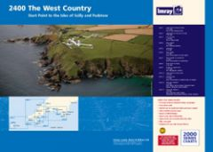 Imray 2000 Series Chart Pack - West Country (2400)