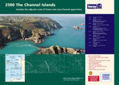 Imray 2000 Series Chart Pack - Channel Islands (2500)