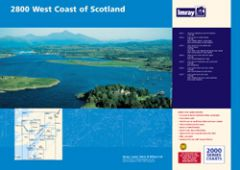 Imray 2000 Series Chart Pack - West Coast Scotland (2800)