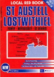 Red Books Street Atlas - St Austell & Lostwithiel