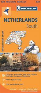 Michelin Regional Map - 532-Zuid-Nederland/Pays-Bas Sud