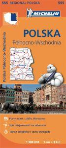 Michelin Regional Map - 555-Poland Northeast