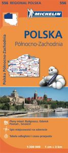 Michelin Regional Map - 556-Poland Northwest
