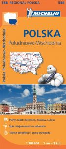 Michelin Regional Map - 558-Poland Southeast