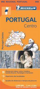Michelin Regional Map - 592-Portugal Centro (C)