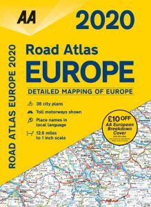 AA - Road Atlas - Europe
