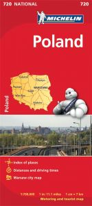 Michelin National Map - 720-Poland