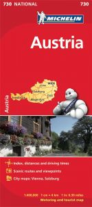 Michelin National Map - 730-Austria