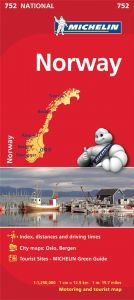 Michelin National Map - 752-Norway