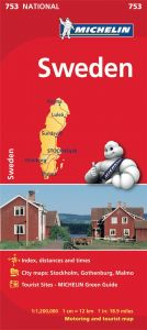 Michelin National Map - 753-Sweden