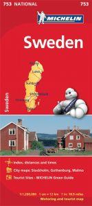 Michelin National Map - 753-Sweden