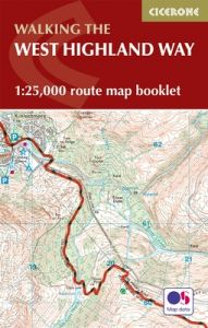 Cicerone - National Trail Map Booklet - West Highland Way (MB)