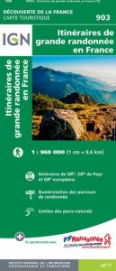 IGN Discovery Of France - Long Distance Footpaths In France (903)