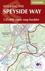 Cicerone - National Trail Map Booklet - The Speyside Way (MB)