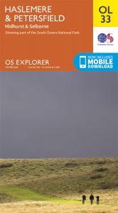 OS Explorer Leisure - OL33 - Haslemere & Petersfield