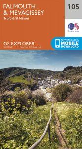 OS Explorer - 105 - Falmouth & Mevagissey