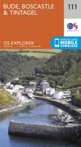 OS Explorer - 111 - Bude, Boscastle & Tintagel