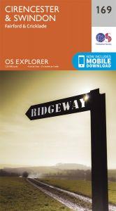 OS Explorer - 169 - Cirencester & Swindon
