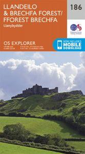 OS Explorer - 186 - Llandeilo & Brechfa Forest
