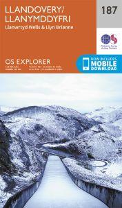 OS Explorer - 187 - Llandovery/Llanymddyfri
