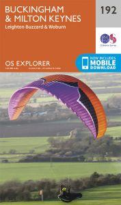 OS Explorer - 192 - Buckingham & Milton Keynes