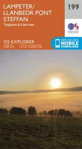 OS Explorer - 199 - Lampeter/Llanbedr Pont Steffan