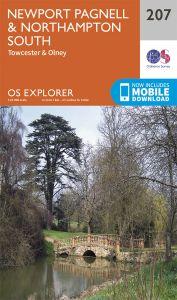 OS Explorer - 207 - Newport Pagnell & Northampton