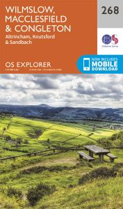 OS Explorer - 268 - Wilmslow, Macclesfield & Congleton