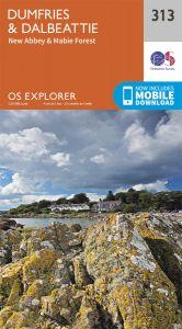 OS Explorer - 313 - Dumfries & Dalbeattie