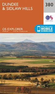 OS Explorer - 380 - Dundee & Sidlaw Hills