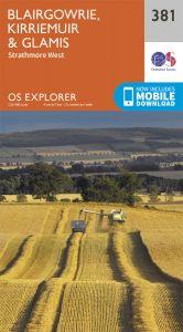 OS Explorer - 381 - Blairgowrie, Kirriemuir & Glamis