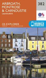 OS Explorer - 382 - Arbroath, Montrose & Carnoustie