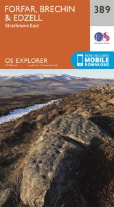 OS Explorer - 389 - Forfar, Brechin & Edzell