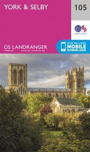OS Landranger - 105 - York & Selby