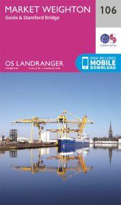 OS Landranger - 106 - Market Weighton, Goole & Stamford Bridge