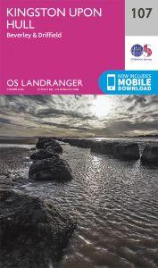OS Landranger - 107 - Kingston upon Hull, Beverley & Driffield