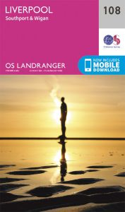 OS Landranger - 108 - Liverpool, Southport & Wigan