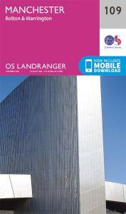 OS Landranger - 109 - Manchester, Bolton & Warrington
