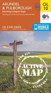 OS Explorer Active - 10 - Arundel & Pulborough