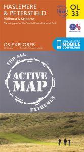 OS Explorer Active - 33 - Haslemere & Petersfield