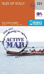 OS Explorer Active - 101 - Isles of Scilly