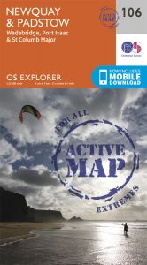 OS Explorer Active - 106 - Newquay & Padstow