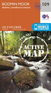 OS Explorer Active - 109 - Bodmin Moor