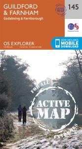 OS Explorer Active - 145 - Guildford & Farnham