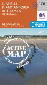 OS Explorer Active - 178 - Llanelli & Ammanford